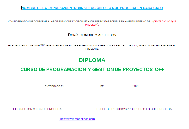 imagen modelo diploma
