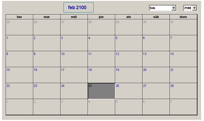 Imagen Insertar Calendario En Hoja De Excel Versi  N Anterior 2007
