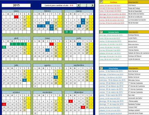Modelo calendario (imagen)