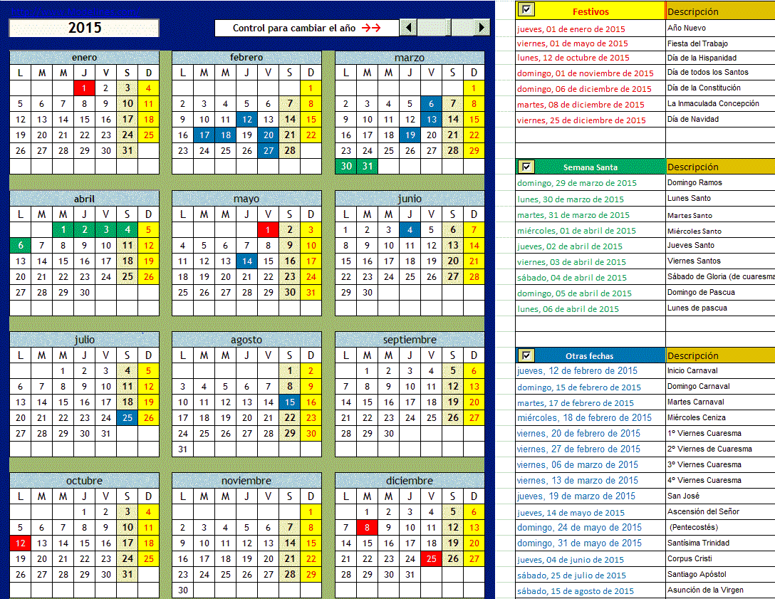 2017 calendar download 17 free printable excel templates - 768×594